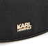 Karl Lagerfeld Women's K/Grainy Small Satchel - Black: Image 4
