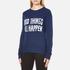 Levi's Women's Favourite Crew Neck Sweatshirt - Yacht Embroidery: Image 2