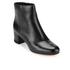 MICHAEL MICHAEL KORS Women's Sabrina Leather Mid Heeled Boots - Black: Image 2
