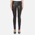 Helmut Lang Women's Stretch Leather Pants - Black: Image 1