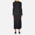 Helmut Lang Women's Double Rib Knit Detached Cuff Dress - Heather Grey: Image 3