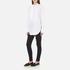 Helmut Lang Women's Raw Tuxedo Shirt - White/Multi: Image 4