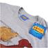 DC Bombshells Mens Supergirl T-Shirt - Grijs: Image 2
