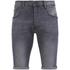Crosshatch Men's Skylo Denim Shorts - Grey Wash: Image 1