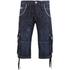 Crosshatch Men's Kanaster Denim Shorts - Dark Wash: Image 1