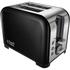 Russell Hobbs 22392 2 Slice Canterbury Toaster - Black: Image 1