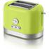 Swan ST10020LIMN 2 Slice Toaster - Lime: Image 1