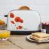 Swan ST16020POPN Poppy 2 Slice Toaster - White: Image 2