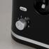 Tower T20009 2 Slice Toaster - Black: Image 5