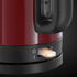 Russell Hobbs 20612 Canterbury Kettle - Red: Image 4