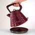 Morphy Richards 108103 Prism Textured Kettle - Merlot: Image 2