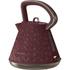 Morphy Richards 108103 Prism Textured Kettle - Merlot: Image 1