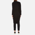 Paisie Women's Ribbed Knee Length Cardigan - Black: Image 3