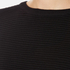 Paisie Women's Ribbed Jumper with Side Splits - Black: Image 5