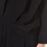 Paisie Women's Top with Multi Pleat Front Hem - Black: Image 5
