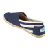 TOMS Men's University Classics Slip-On Pumps - Navy Stripe: Image 4