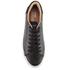 TOMS Men's Lenox Leather Cupsole Trainers - Black: Image 3