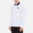 Wood Wood Men's George Long Sleeve Polo Shirt - Bright White: Image 2