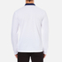 Wood Wood Men's George Long Sleeve Polo Shirt - Bright White: Image 3