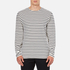 Wood Wood Men's Harrison Long Sleeve T-Shirt - Pristine/Dress Blues: Image 1
