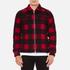 Wood Wood Men's Dale Checked Jacket - Biking Red Checks: Image 1