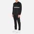 Wood Wood Men's Troy Long Sleeve Sweatshirt - Black: Image 4