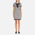 Boutique Moschino Women's Tweed Embellished Dress - Black: Image 1