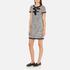 Boutique Moschino Women's Tweed Embellished Dress - Black: Image 2