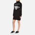 Love Moschino Women's Polo Neck Heart Jumper Dress - Black: Image 2