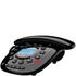 Idect CARRERACLASSICPLUS Corded Phone with Answer Machine - Black: Image 1