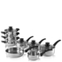 Tower Pan Set - Stainless Steel (8 Piece): Image 1