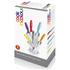 Ciclour MCK24023 Cook in Colour Knife Block - Multi (5 Piece): Image 3