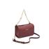 DKNY Women's Bryant Park Square Crossbody Bag - Scarlet: Image 3