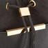 Ted Baker Women's Melania Suede Tassel Bucket Bag - Black: Image 4