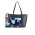 Ted Baker Women's Joriana Printed Lining Small Shopper Tote Bag - Dark Blue: Image 7
