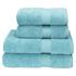 Christy Supreme Hygro 4 Piece Bath Towel & Bath Sheet Bundle - Lagoon: Image 1