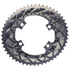 AbsoluteBLACK 110BCD 4 Bolt Spider Mount Aero Oval Chain Ring (Premium): Image 4