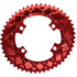 AbsoluteBLACK 110BCD 4 Bolt Spider Mount Aero Oval Chain Ring (Premium): Image 8