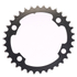AbsoluteBLACK 110BCD 4 Bolt Spider Mount Oval Chain Ring (Training): Image 4