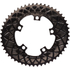 AbsoluteBLACK 110BCD 5 Bolt Spider Mount Aero Oval Chain Ring (Premium): Image 7