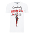 DC Comics Men's Batman Harley Quinn Loves Me T-Shirt - White: Image 1