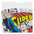 DC Comics Men's Superman Comic Strip T-Shirt - White: Image 3