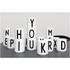 Design Letters Porcelain Cup - Q: Image 2
