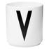 Design Letters Porcelain Cup - V: Image 1