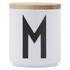 Design Letters Wooden Lid For Porcelain Cup - Wood: Image 1
