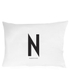 Design Letters Pillowcase - 70x50 cm - N: Image 1