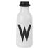 Design Letters Water Bottle - W: Image 1