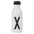 Design Letters Water Bottle - X: Image 1