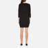 French Connection Women's Mozart Ripple Roundneck Jumper Dress - Black: Image 3