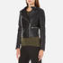French Connection Women's Decade Biker Jacket - Black: Image 2